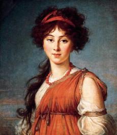Varvara Ivanovna Narishkine, née Ladomirsky, 1800