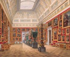 Hau._Interiors_of_the_New_Hermitage._The_Room_of_Italian_Art