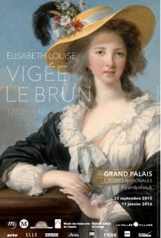 Vigée Le Brun - Affiche Exposition Grand Palais